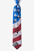 We The People Blue Extra Long Tie Photo (0)