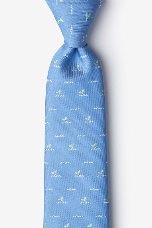 Whale Tails Extra Long Tie
