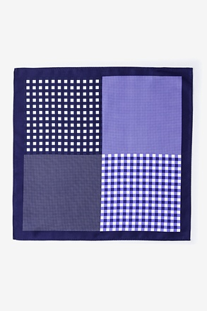Albert Blue Pocket Square