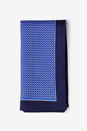 Ernest Blue Pocket Square
