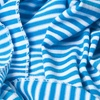 Blue Polyester Mens Candy Stripe Scarf