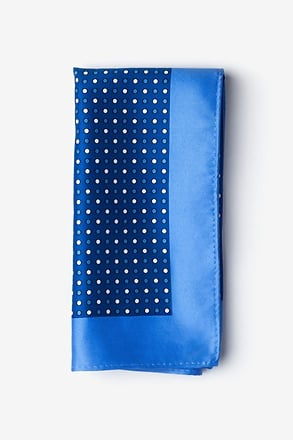 Sammy Blue Pocket Square
