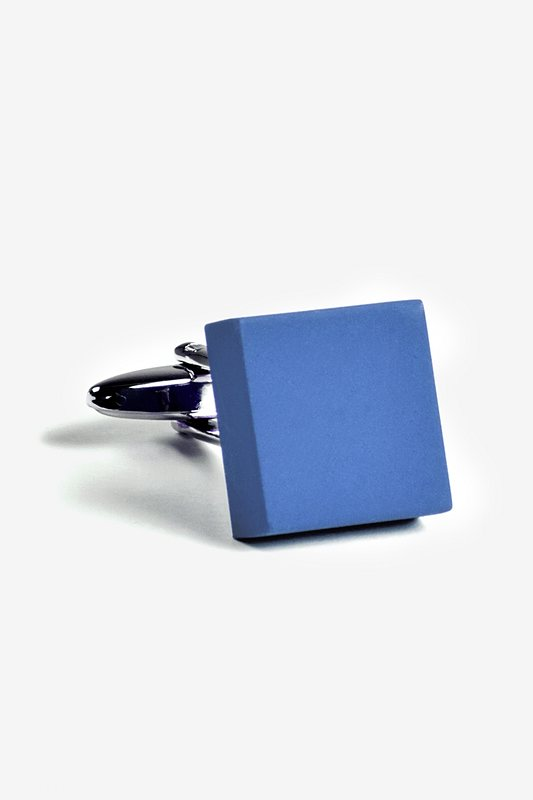 Matte Square Solid Cufflinks Photo (1)