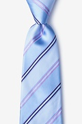 Blue Silk Abbert Tie