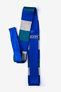 Belgian Color Block Knit Skinny Tie