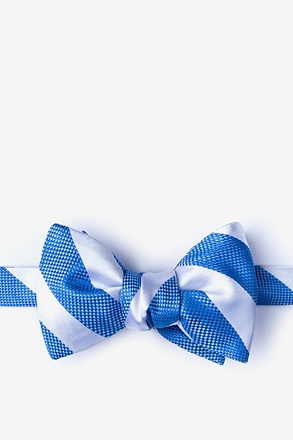 _Berkner Blue Self-Tie Bow Tie_