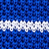 Blue Silk Briton Stripe