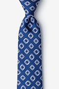 Capri Blue Extra Long Tie Photo (0)