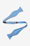 Crabs And Bubbles Self Tie Bow Tie by Alynn Bow Ties