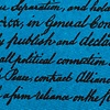 Blue Silk Declaration of Independence