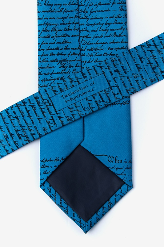 Declaration of Independence Tie Photo (3)