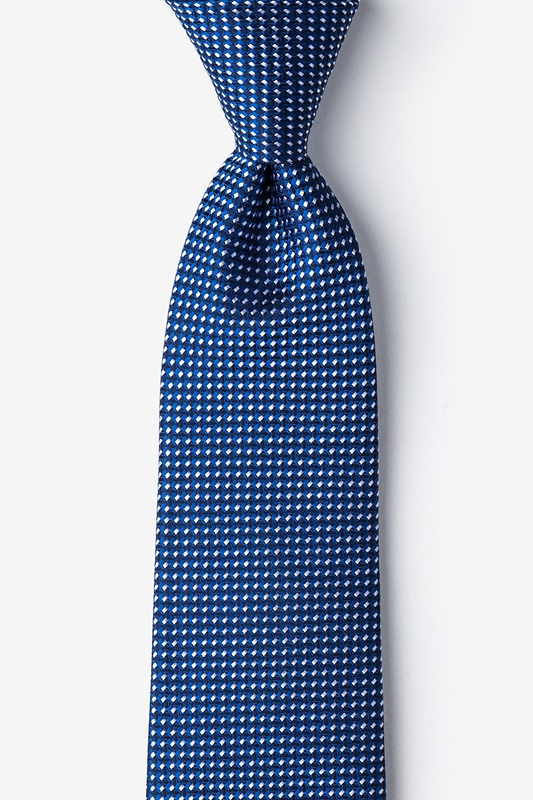 Groote Blue Extra Long Tie Photo (0)