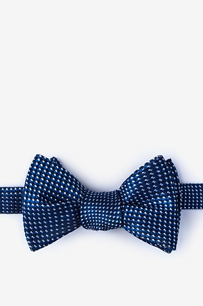 Groote Blue Self-Tie Bow Tie