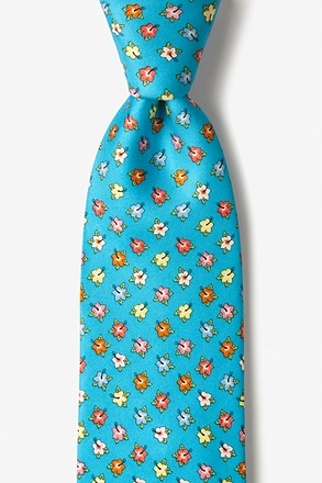 Hibiscus Highlights Tie