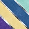 Blue Silk Know the Ropes Skinny Tie