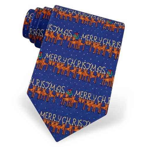 Merry Christmas Tie by Alynn Novelty
