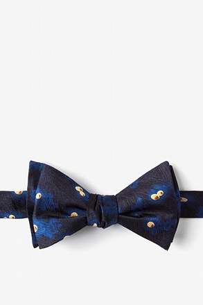 _MRSA Blue Self-Tie Bow Tie_