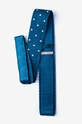 Polka Dot Knit Skinny Tie Photo (1)