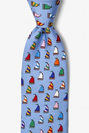 _Rainbow Fleet Blue Tie_
