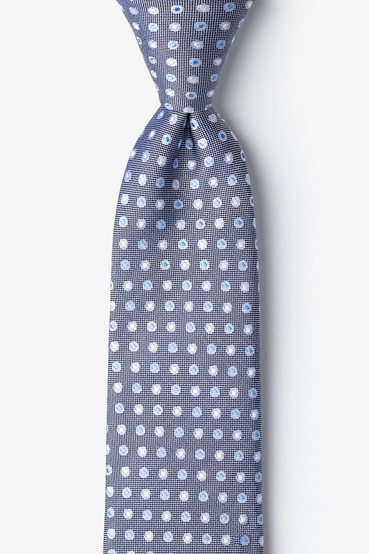 Rupat Blue Extra Long Tie Photo (0)