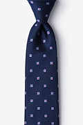 Sable Blue Extra Long Tie Photo (0)