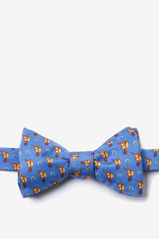 Saddles & Shoes Self Tie Bow Tie by Alynn Bow Ties