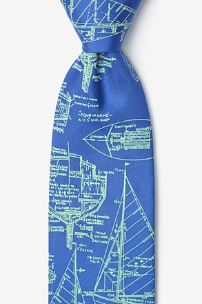 Sail Plans Blue Tie