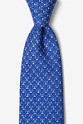 Blue Silk Scales Of Justice Tie