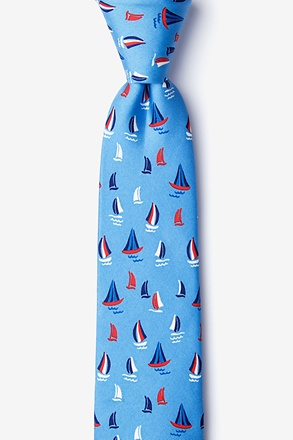 _Smooth Sailing Skinny Tie_