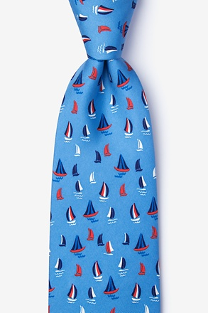 _Smooth Sailing Blue Tie_