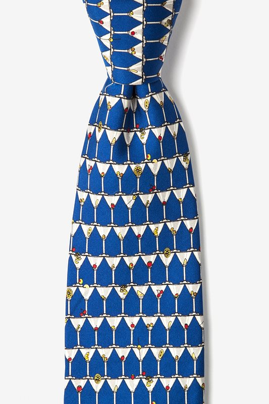 Stack of Martinis Tie Photo (0)