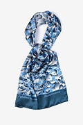 Staphylococcus Blue Oblong Scarf by Infectious Awareables