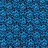 Blue Silk Textured Solid Knit Tie