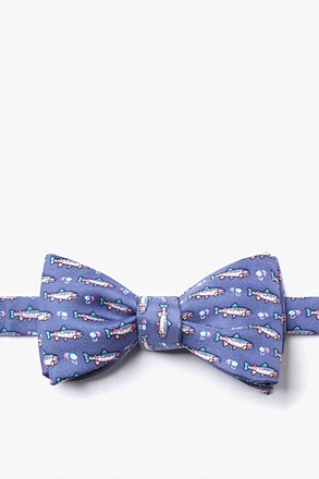 Trout & Fly Butterfly Bow Tie