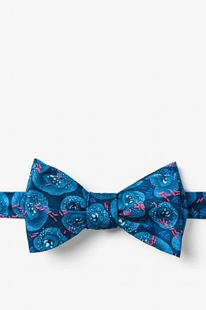 _Tuberculosis Blue Self-Tie Bow Tie_