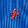 Blue Silk Will Work For Lobster Tie