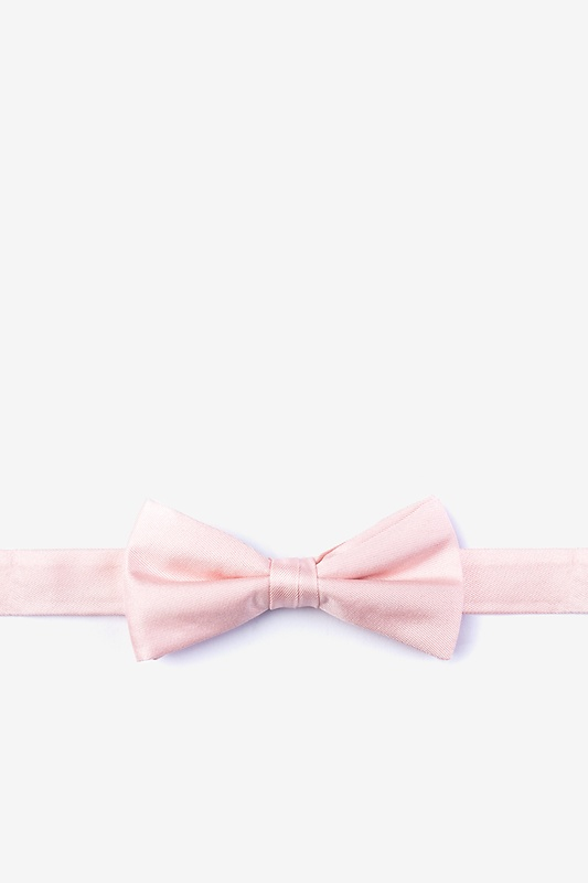 Blush Bow Tie For Boys