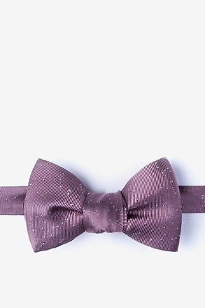 Iceland Bridal Rose Self-Tie Bow Tie