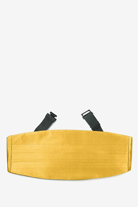 Bright Gold Cummerbund