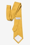 Bright Gold Extra Long Tie Photo (2)