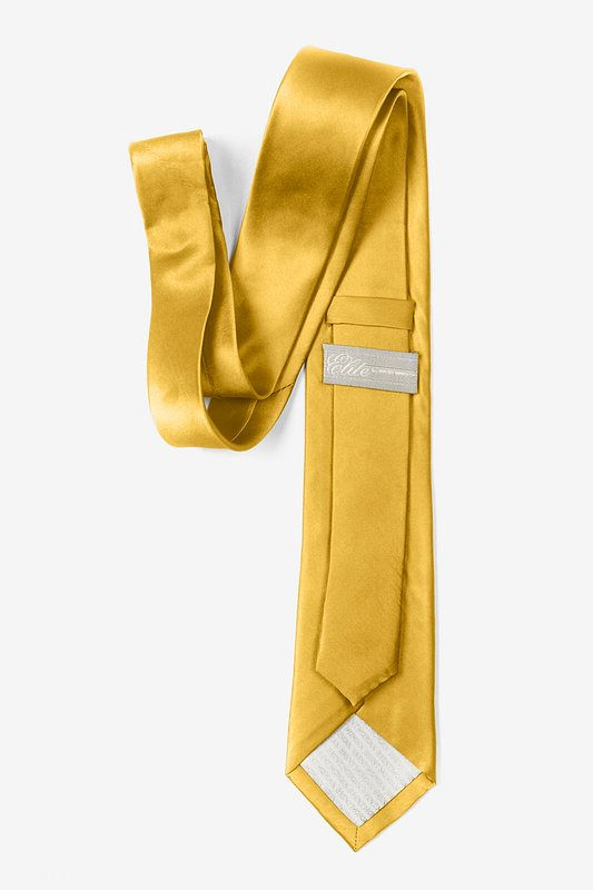 Bright Gold Tie For Boys Photo (2)