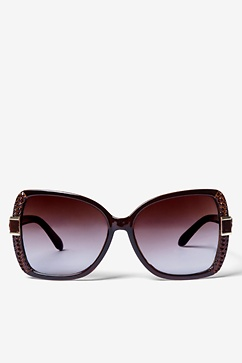 Brown Marilyn Oversized Sunglasses