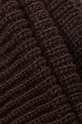 Brown Concord Knit Infinity Scarf