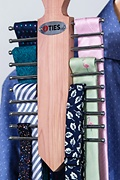 Cedar Necktie Ladder Tie Rack