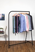 Triangle Cedar Tie Hanger Brown Tie Rack Photo (1)