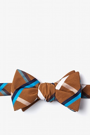 Bellingham Brown Self-Tie Bow Tie