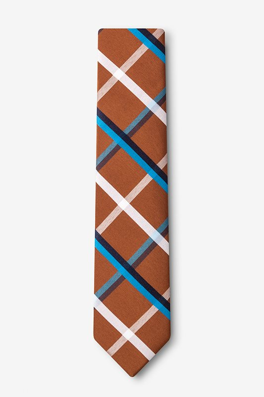 Bellingham Brown Skinny Tie