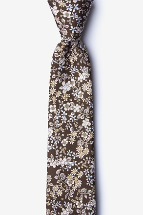 _Campbell Brown Skinny Tie_