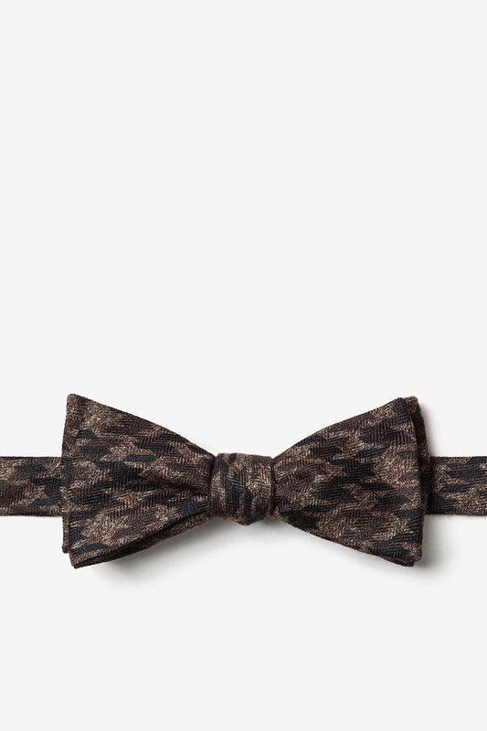 Chandler Brown Skinny Bow Tie Photo (0)
