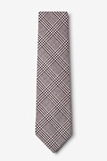 Cottonwood Brown Extra Long Tie Photo (1)
